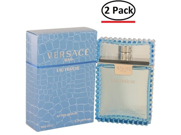 Versace Man by Versace Eau Fraiche After Shave 3.4 oz for Men (Package of 2) - Product Image