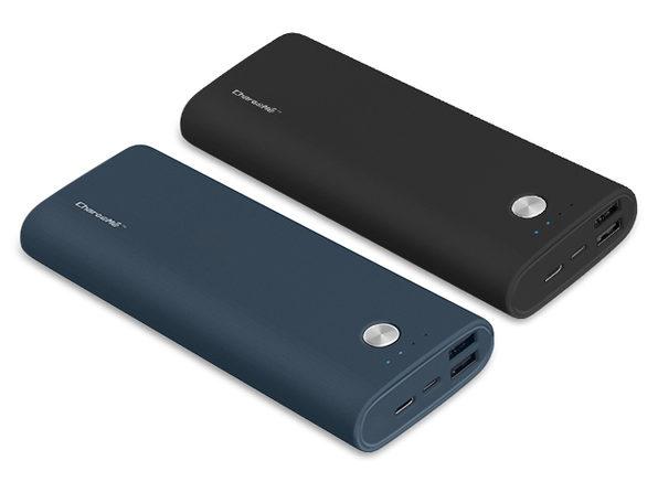 Portable 15,000mAh Power Bank (Blue)