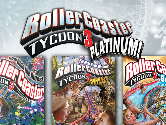 Rollercoaster Tycoon 174 3 Platinum Stacksocial