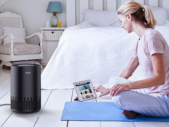 VAVA EE014 Air Purifier with 3-in-1 True HEPA Filter