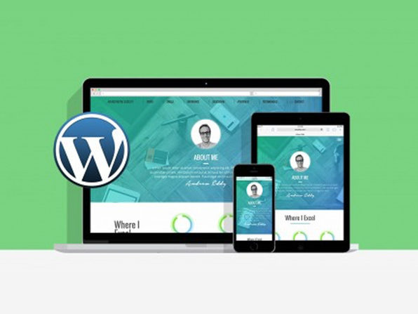 Learn WordPress by Building 2 Responsive Websites