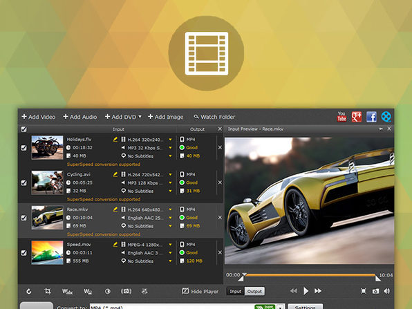 Movavi Video Converter for Mac - Product Image