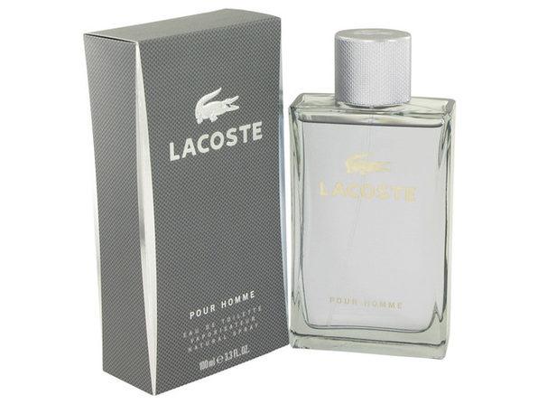 3 Pack Lacoste Pour Homme by Lacoste Eau De Toilette Spray 3.3 oz for Men