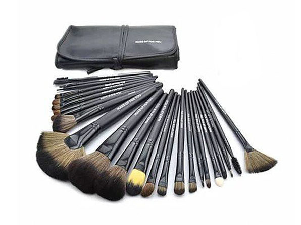 24-Piece High Quality Makeup Brush Set