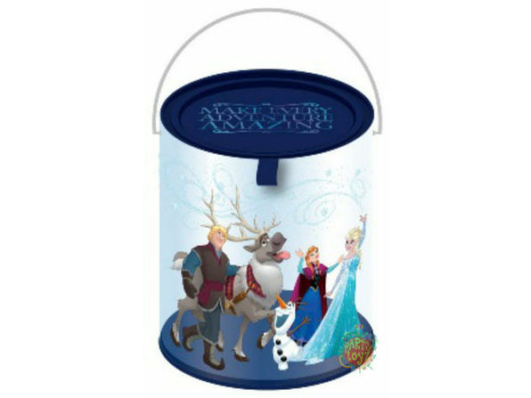 "Frozen Clear Paint Canister with Tin Lid - ""Amazing"""
