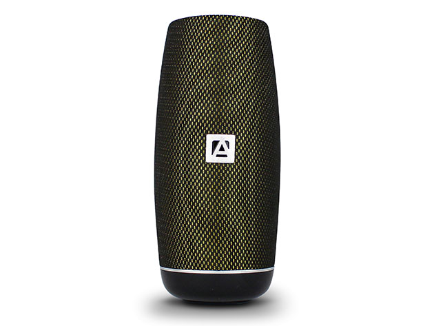 A wireless speaker.