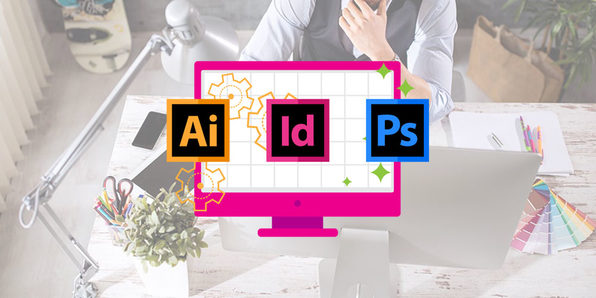 Photoshop, InDesign & Illustrator 101 - Product Image