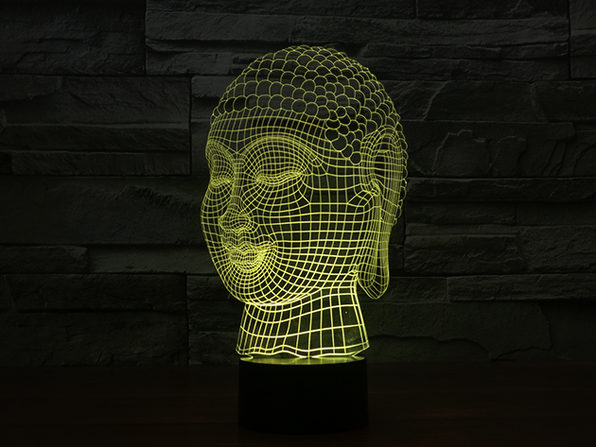 3 D Illusion Buddha Lighting StackSocial