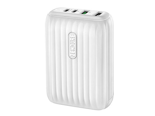 Zendure SuperHub Charger & Hub with Dual PD (White)