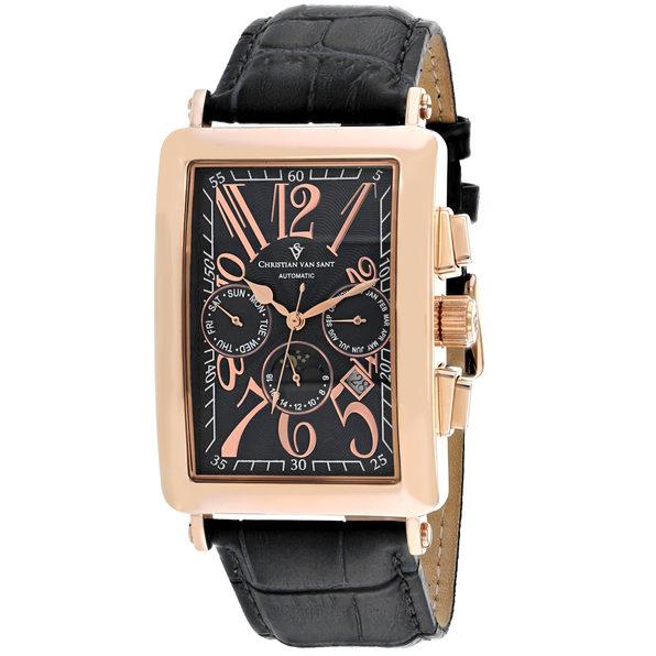 Christian Van Sant Men's Prodigy Black Dial Watch - CV9141