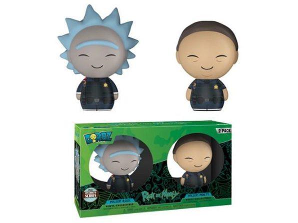 Funko Pop Dorbz Specialty Series: Rick & Morty Police Vinyl Figures (2 Pack) - Product Image