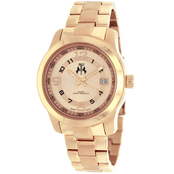 Jivago Women's Infinity Rose Gold dial watch - JV5214 - Product Image