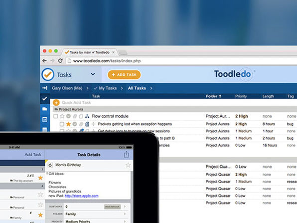 Toodledo Plus Online Task Manager: 1-Yr Subscription