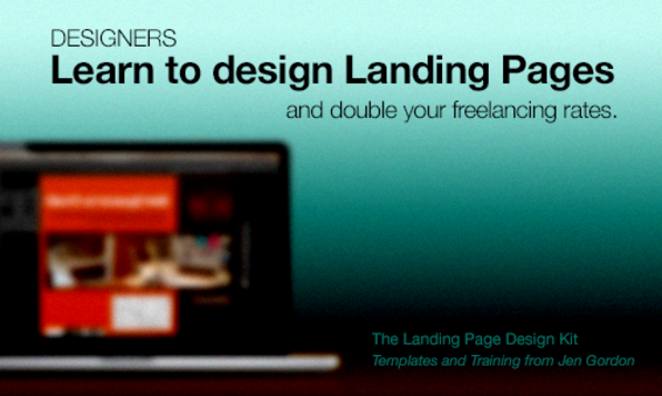 The Landing Page Design Kit - Product Image