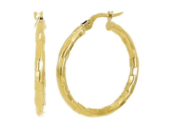 Christian Van Sant Italian 14k Yellow Gold Earrings CVE9H86