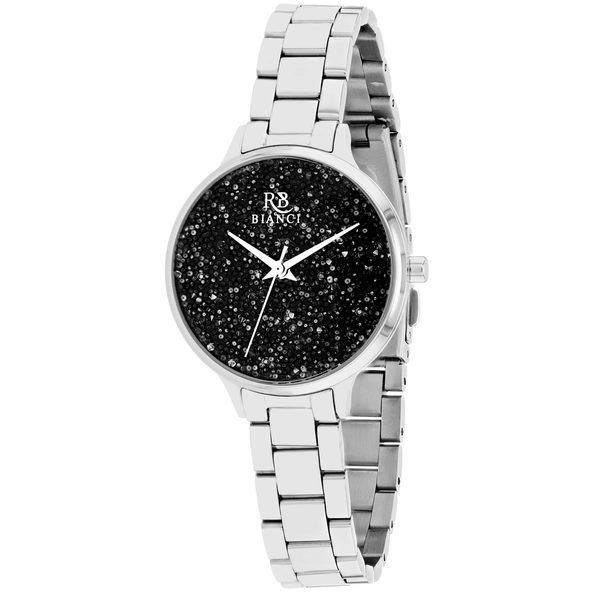 Roberto Bianci Women's Gemma Black Dial Watch - RB0248