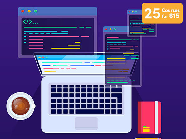 25 Courses for $15 - Product Image