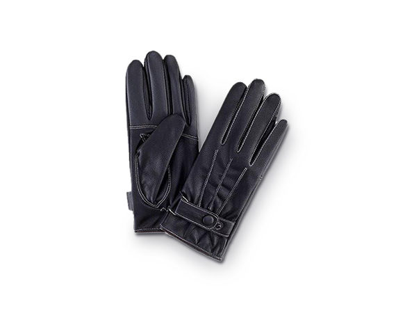 iPM Touchscreen Gloves (Men's Leather/Fleece)
