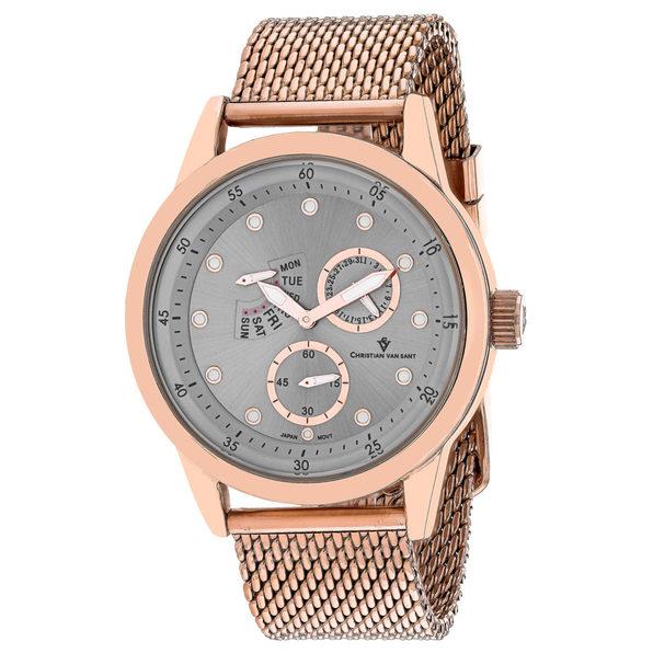 Christian Van Sant Men's Rio Silver  Dial Watch - CV8713