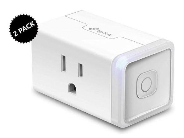 TP-Link Kasa Smart Home WiFi Plug 2-Pack