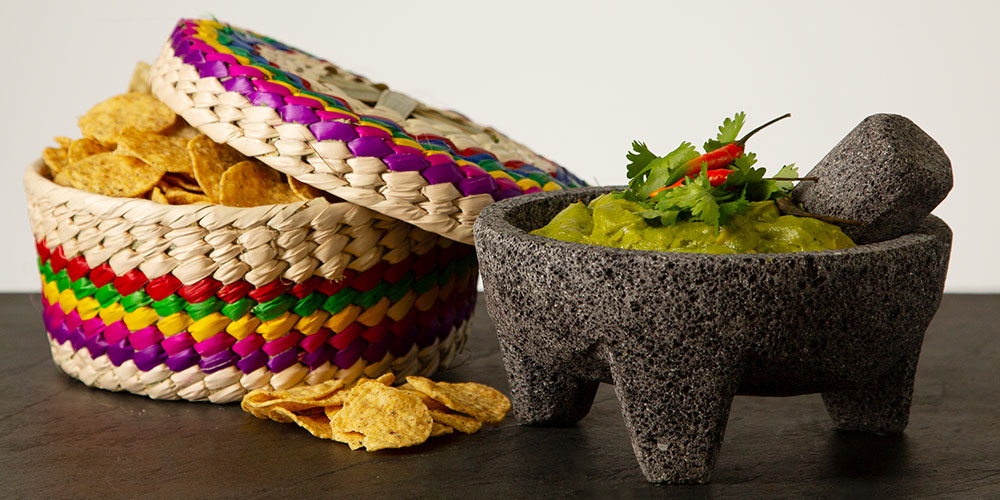 Chips and guacamole.