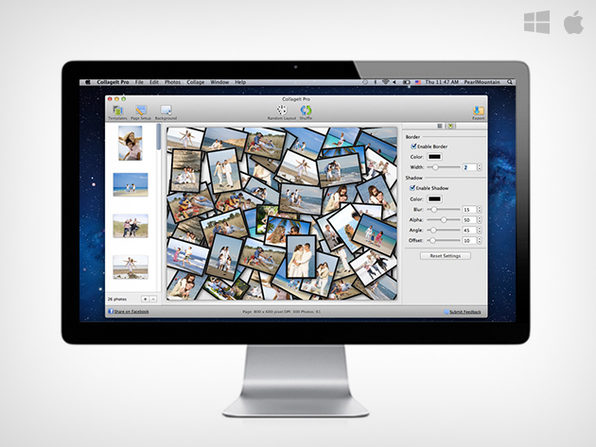 Make Photo Grids & Collages on Mac / Windows for Free