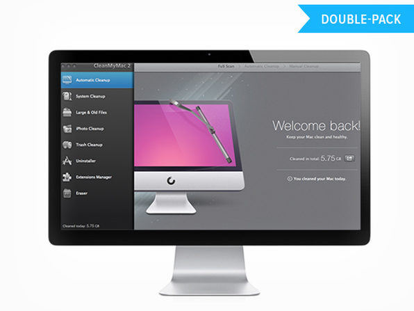 CleanMyMac 2 Double Pack - Product Image