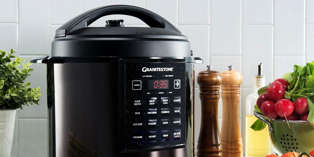 Granite Stone 12-in-1 6-Quart Pressure Cooker