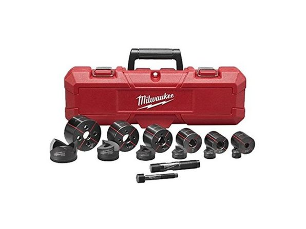 "Milwaukee 49-16-2693 M18 Exact 1/2"" to 2"" Knockout Set"