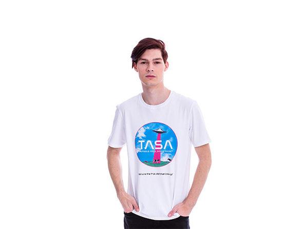 Animated TASA White T-Shirt (S)