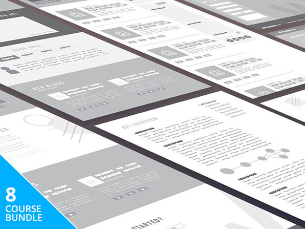 The Complete UI & UX Design Master Class Bundle