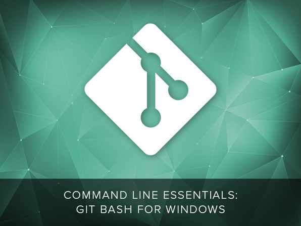 Command Line Essentials: Git Bash for Windows - Product Image