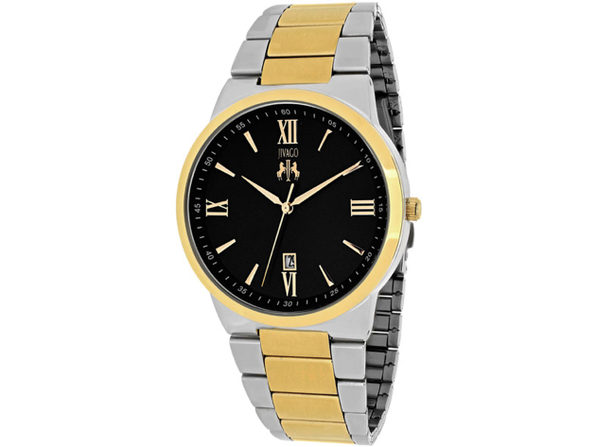 Jivago Men's Clarity Black Dial Watch - JV3513