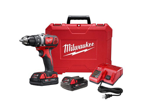 """Milwaukee 2606-22CT M18 1/2"""" Drill Driver CP Kit - Product Image"""