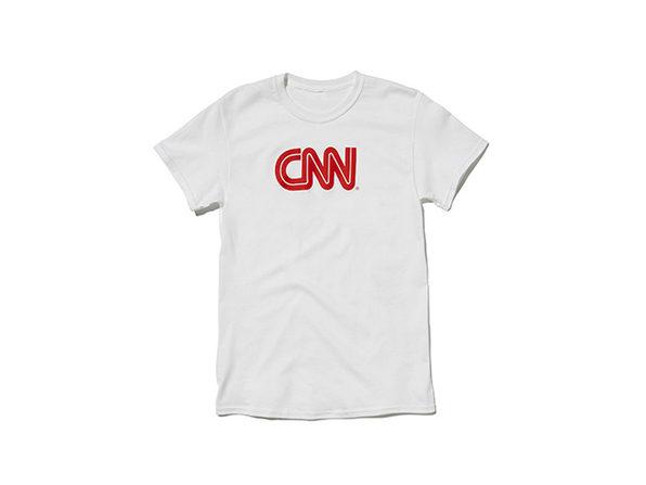 CNN Promo Tee  White L
