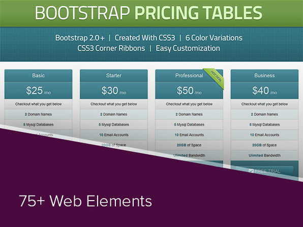 Web Element Bundle - Product Image