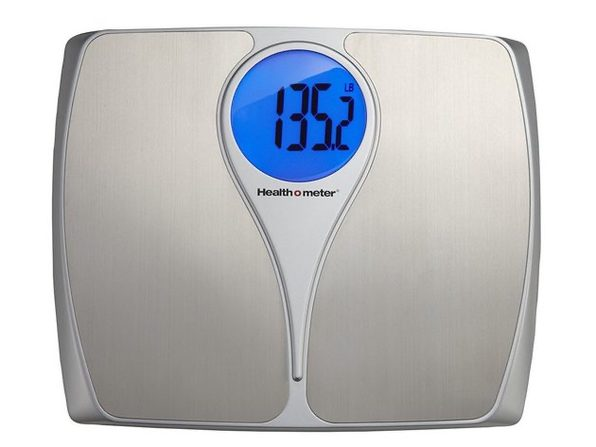Health o Meter HDM173DQ-99 Stainless Steel Scale with Weight Tracking - Stainless Steel