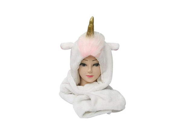 Unicorn Hat Scarf