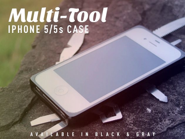 The MacGyver-Approved iPhone 5/5S Case (Grey) | Cult of ...