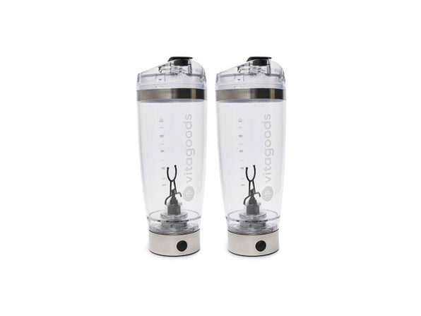 FitMix Pro Portable & USB Rechargeable Blender Bottles: 2 Pack