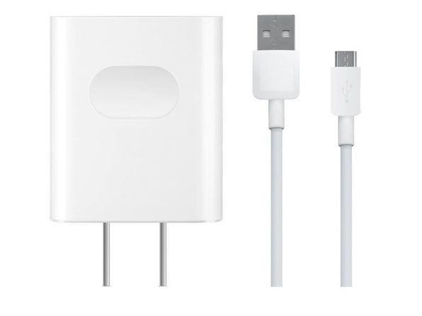 Quick Charge 9 Volts 2 Amp Wall for Huawei Ascend, Mate 7,i P8, P10, Max Mate with Micro USB Cable-White