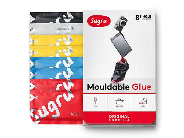 Sugru: The Original Moldable Glue (8-Pack / Classic Colors)