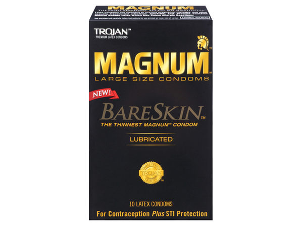 Trojan Magnum Bareskin Condoms (10) ---(Package Of 2)