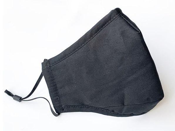 Non-Medical Cotton Masks (Black/2-Pack)