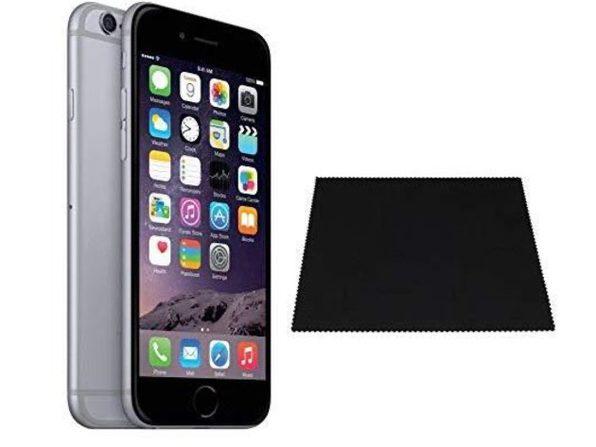 "Apple iPhone 6 32GB 4.7"" Space Gray 8MP Locked Straight-Talk/Total Wireless"