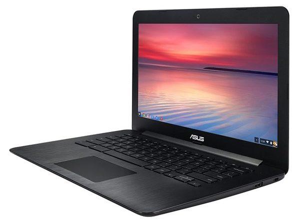"ASUS C300M-DH02 13"" Chromebook, 2.16GHz Intel Celeron, 2GB RAM, 16GB SSD, Chrome, 13"" Screen (Renewed)"