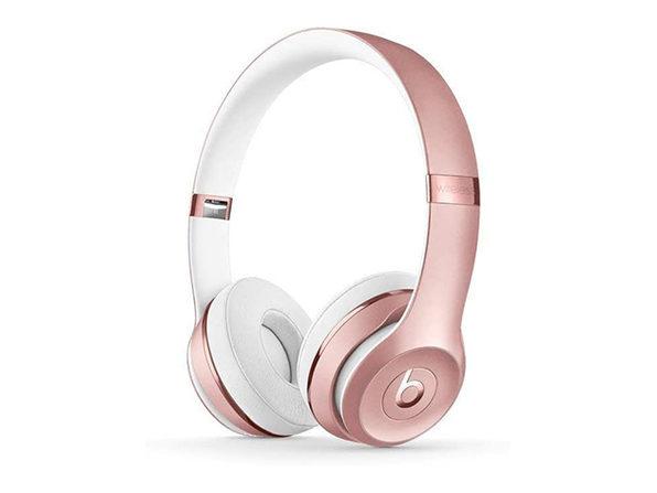 Beats Solo3 Wireless On-Ear Headphones (Rose Gold)