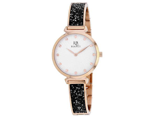 Roberto Bianci Women's Brillare White Dial Watch - RB0204