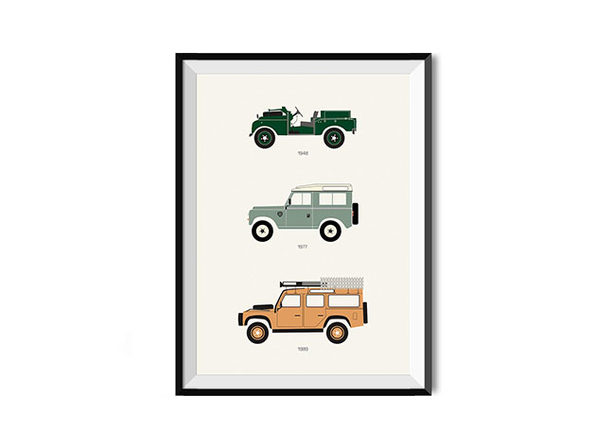The British Workhorse Defender Poster