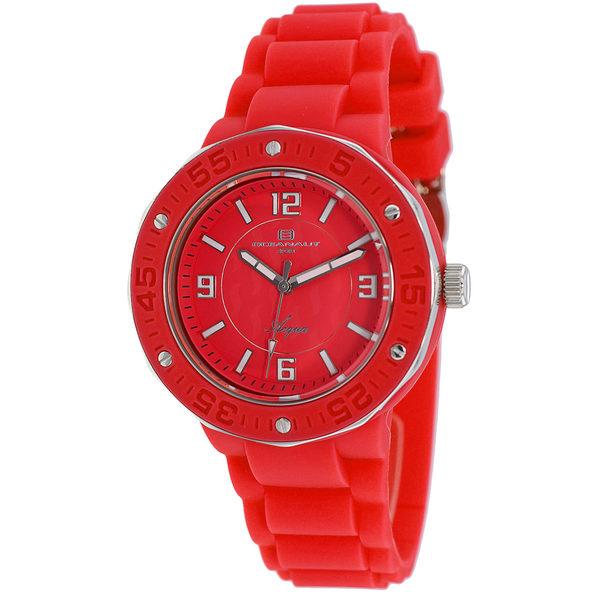 Oceanaut Women's Acqua Red Dial Watch - OC0225